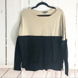 4/$25 • Vince • Color Block Sweater